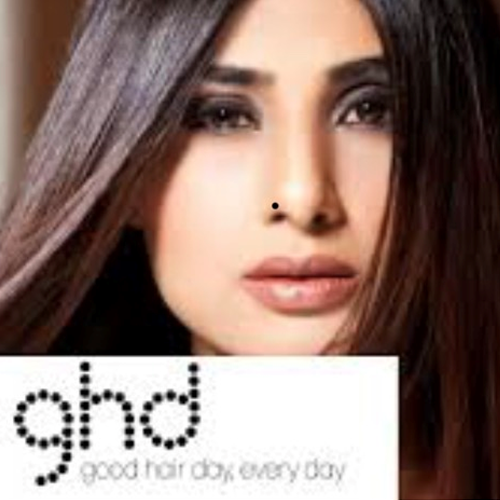 Advertisement for GHD